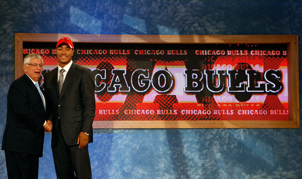 Sully thinks the Bulls will win the lottery. The last time the Bulls selected first was when they drafted Derrick Rose, 10 years ago. Photo: Nick Laham/Getty Images North America