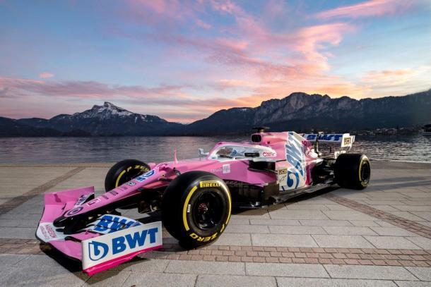 Carro da Racing Point em 2020 (Foto: Reprodução/Racing Point)