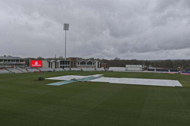 Durham's three-day match with Durham MCCU was hampered with rain (Photo: Andrew McDonnell)