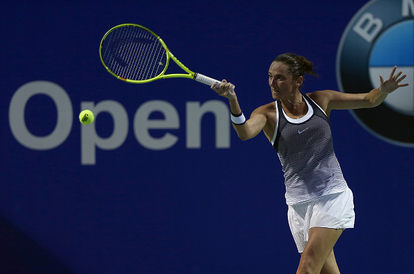 Vinci has rebounded well in California after a dissapointing tournament in Kuala Lumpur (Getty Images/Stanley Chou)