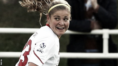 Rosie White could provide the goals Liverpool have been searching for. | Photo: FAWSL