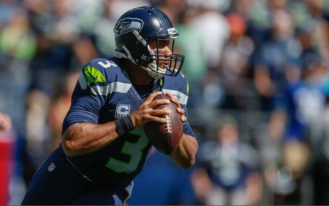 Russell Wilson threw for just over 250 yards and one touchdown in Week One against the Miami Dolphins | Source: Otto Greule Jr - Getty Images