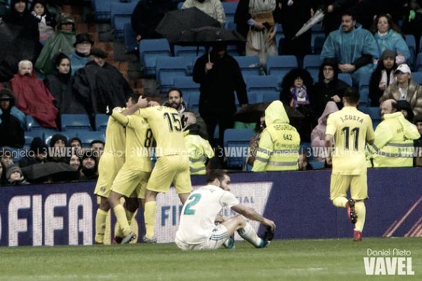 Celebración gol de Pablo Fornals | Foto: Daniel Nieto (VAVEL)