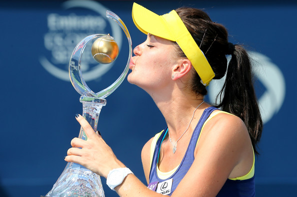 Radwanska won the title in Canada back in 2014. Photo: Streeter Lecka/Getty Images