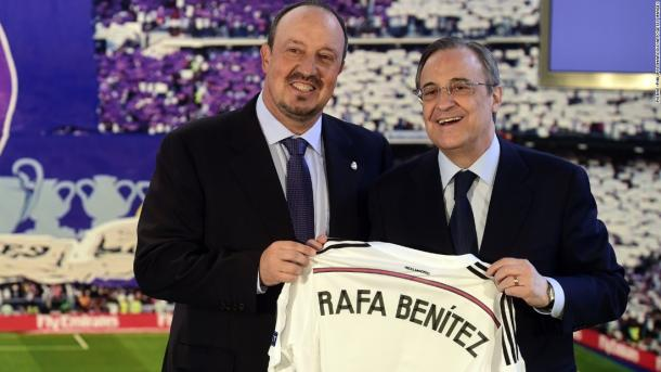 Benitez started 2016 in charge of Real Madrid (Photo: mirror.co.uk)