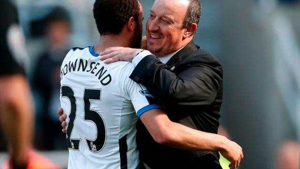 Will Townsend and Benitez be celebrating for the right reasons come May? | Image source: ITV