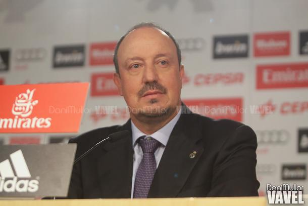 Rafael Benitez during his time at Real Madrid | Photo: Dani Mullor/VAVEL