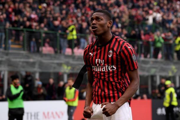 Rafael Leão | Photo: AC Milan Official Twitter