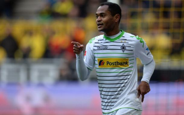 Raffael celebrates scoring for Borussia Monchengladbach | Image: Getty images