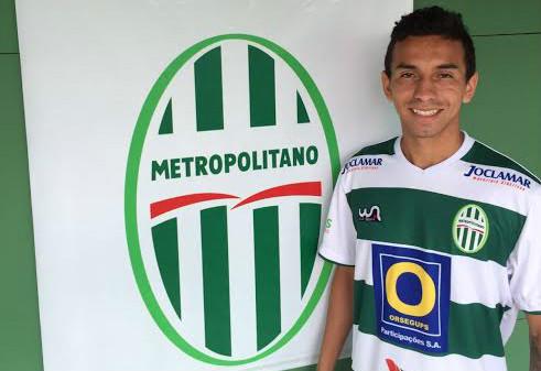 Rafinha, ex-Flamengo, é o destaque do Metrô (Foto: Divulgação/Metropolitano)