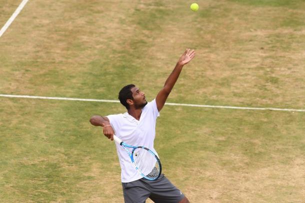 Ramanathan fez sua melhor campanha na carreira (Foto: Divulgação/Hall of Fame Tennis Championships)