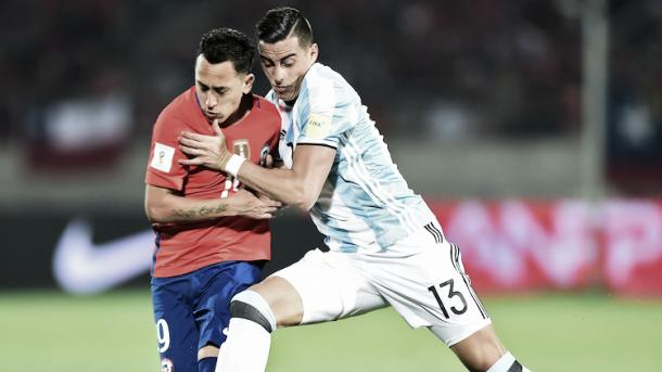 Ramiro Funes Mori played 90 minutes in Argentina's 2-1 victory over Chile. | Photo: Getty Images