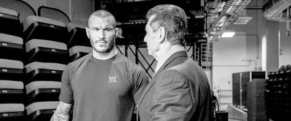 Randy Orton is in the good books of Mr McMahon (image; ringsidenews.com)
