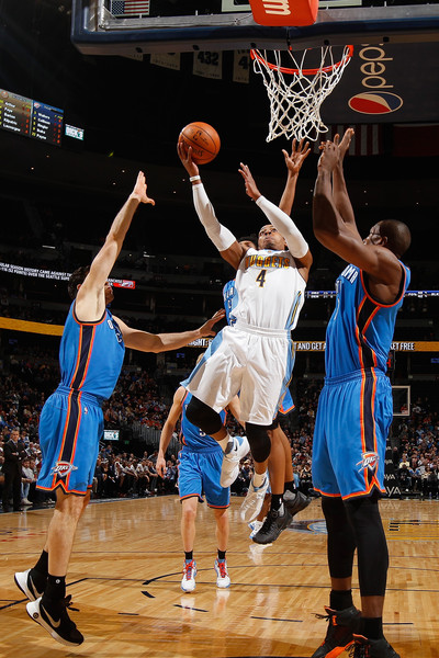 Foye is a talented veteran headed Oklahoma City's way (Doug Pensinger/Getty Images).