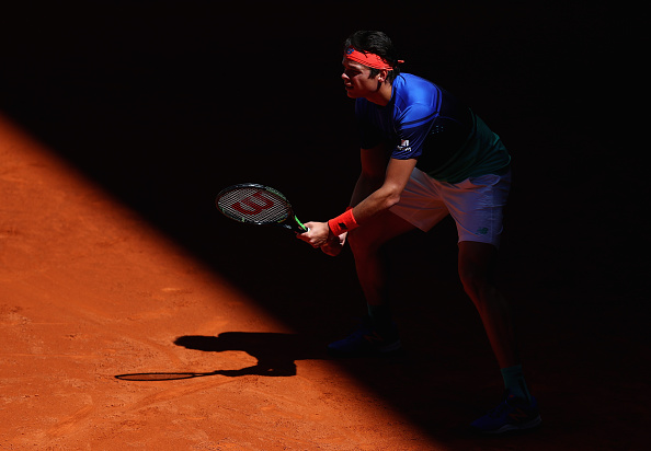 Milos Ranoic is looking to beat Novak Djokovic for the first time in his career in the quarterfinals of the Madrid Open. | Photo: Getty Images