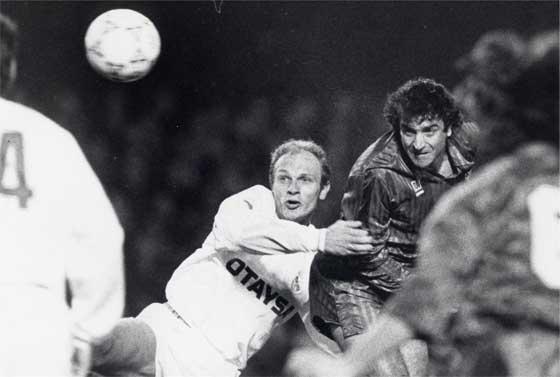 Real Madrid-Barcelona de enero de 1991. | FOTO: Fernando Zueras.