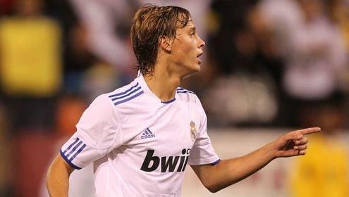Sergio Canales en el Real Madrid. Fuente: Real Madrid
