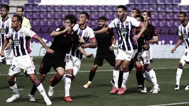Partido de la primera jornada entre Real Valladolid y Real Sociedad | Fuente: Real Sociedad
