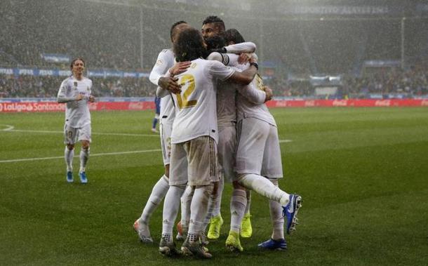 Último partido entre Real y Alavés. Foto: EFE