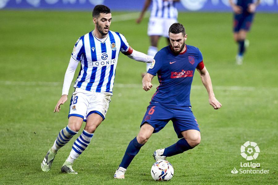 Real Sociedad vs Atlético de Madrid, jornada 15 // Fuente: La Liga