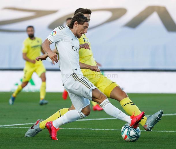 Luka Modric en el Real Madrid / Fuente: Realmadrid.com