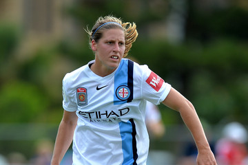 Stott helped Melbourne City to the W-League title in 2016   Source: Darrian Traynor/Getty Images AsiaPac