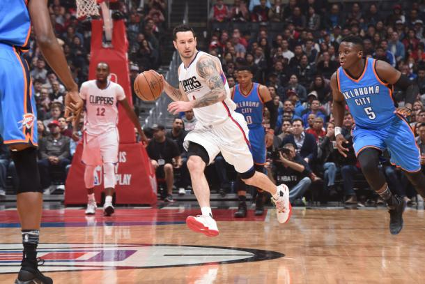 JJ Redick playing a big role in the Clippers offense again. | Photo: Andrew D. Bernstein/NBAE via Getty Images