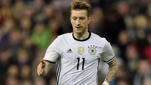 Reus will have to watch his German teammates back home this summer / Sky Sports