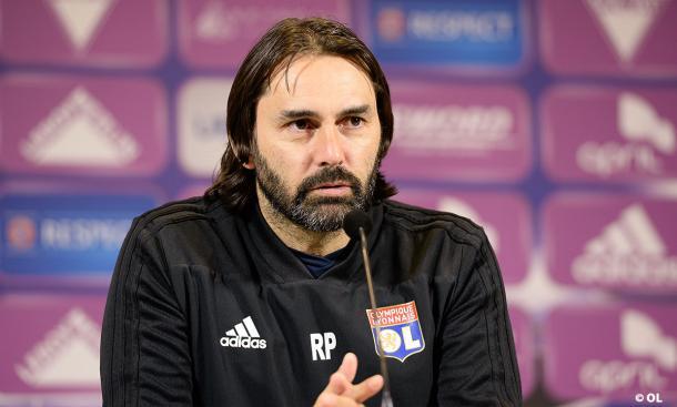 Reynald Pedros, entrenador del Lyon Femenino. FOTO: Olympique Lyon