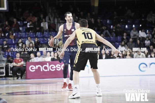 Ribas fue uno de los líderes del equipo. Foto: Noelia Déniz