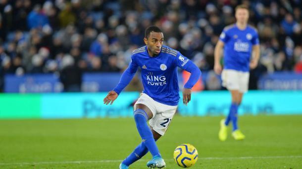 El portugués lateral derecho del Leicester, Ricardo Pereira / Foto: Página oficial del Leicester