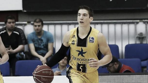 Nico Richotti, veterano y líder del equipo. Foto: ACB