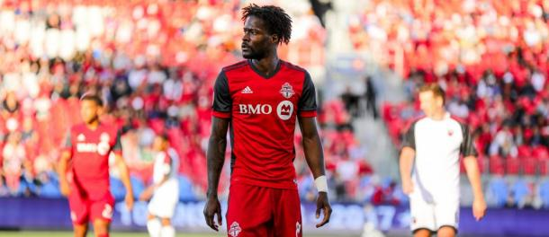 Tosaint Ricketts will be looked upon to lead the line for Toronto | Source: torontofc.ca