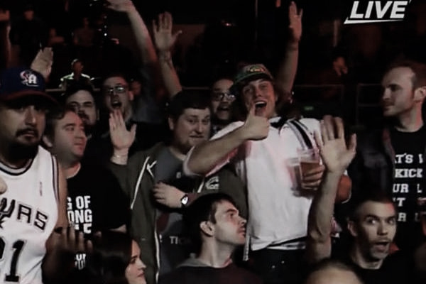 Riddle even stopped for a beer at TakeOver. Photo- What Culture
