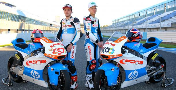 Fabio Quartararo y Edgar Pons. Foto: HP Pons Racing - VAVEL