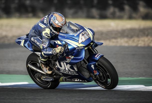 Alex Rins | Foto vía: MotoGP