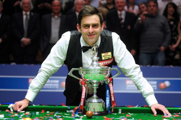 Ronnie O'Sullivan won the Championship in 2008 | Photo: snookercueist