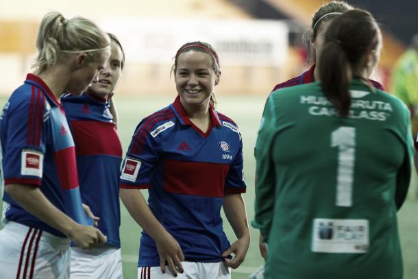 Røa place themselves in the title race | Source: grydis.no