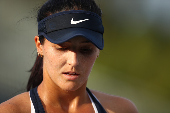 It Was A Frustrating Match For Laura Robson. Photo: Clive Brunskill/Getty Images