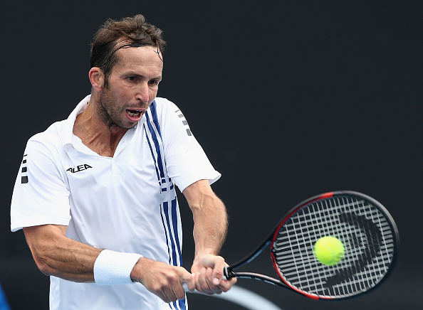 Radek Stepanek, pictured during qualifying, should look to be aggressive (Getty/Robert Prezioso)