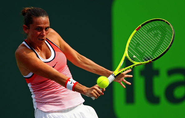 Vinci will play in front of her home crowd (Getty/ Mike Ehrmann)