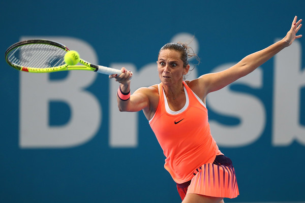 Had Vinci converted her 2-0 lead in the final set against Pliskova, who knows what would have happened? | Photo: Chris Hyde/Getty Images AsiaPac