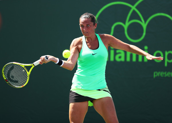 Roberta Vinci had another disappointing exit at the hands of Taylor Townsend in Miami | Photo: Al Bello/Getty Images North America