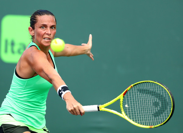 Nothing was working for Vinci today | Photo: Al Bello/Getty Images North America