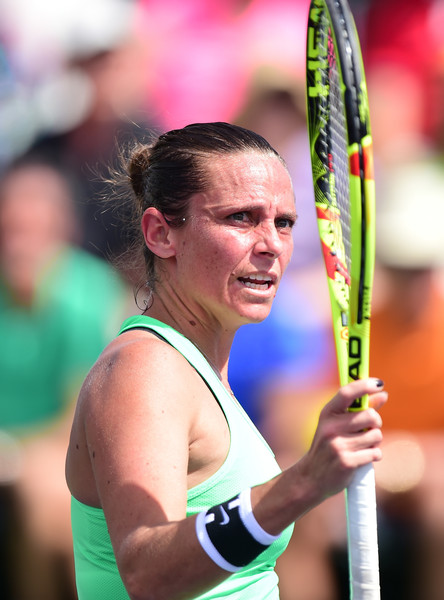 Roberta Vinci fights back to win the second set | Photo: Harry How/Getty Images North America