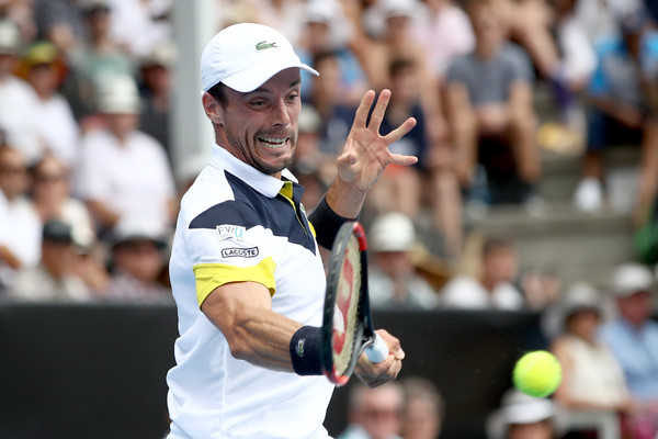 Roberto Bautista Agut's baseline game was firing during the match | Photo: Phil Walter/Getty Images AsiaPac