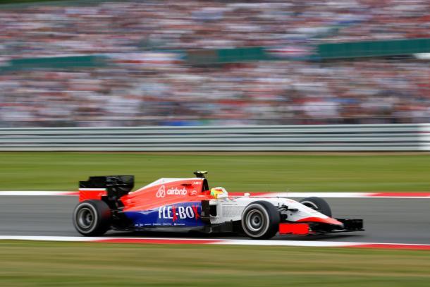 Roberto Merhi durante el GP de Gran Bretaña | Fuente: Getty Images