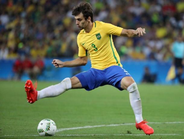 Rodrigo Caio con il Brasile olimpico, vivelohoy.com