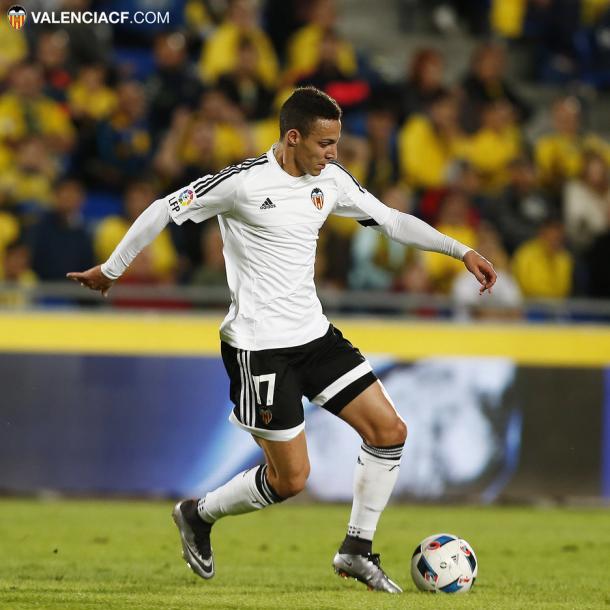 Rodrigo fue el principal protagonista en la última eliminatoria | Fotografía: Valencia CF