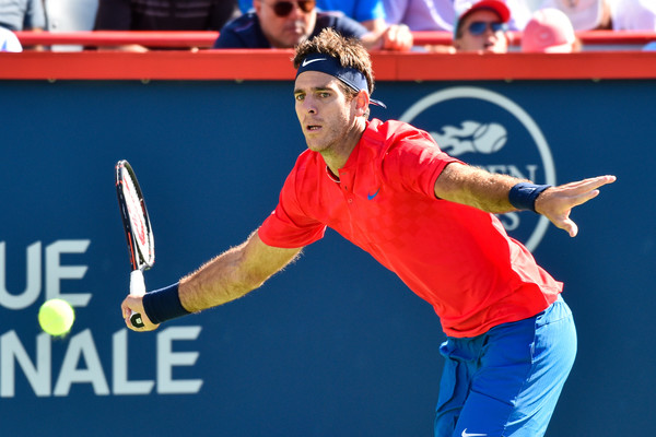 Juan Martin del Potro wasn't playing his best today | Photo: Minas Panagiotakis/Getty Images North America